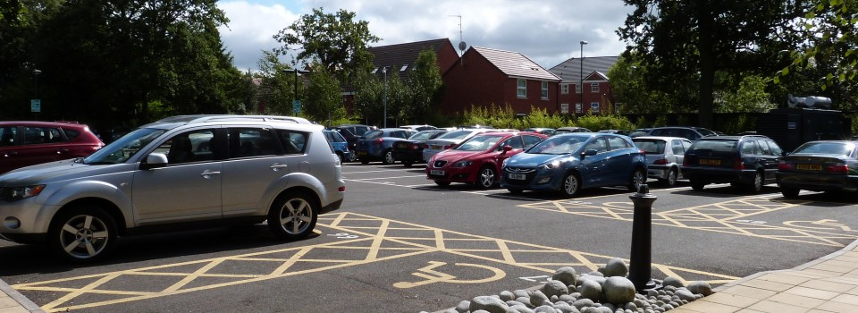 Fully utilised car park onsite, with gated barrier entry and cctv coverage